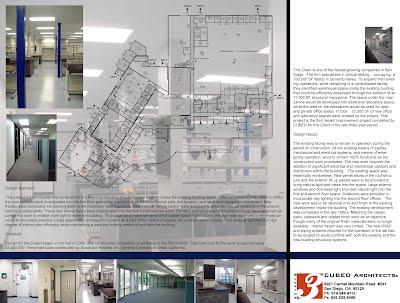 Prometheus Laboratory Expansion - CUBED Architects